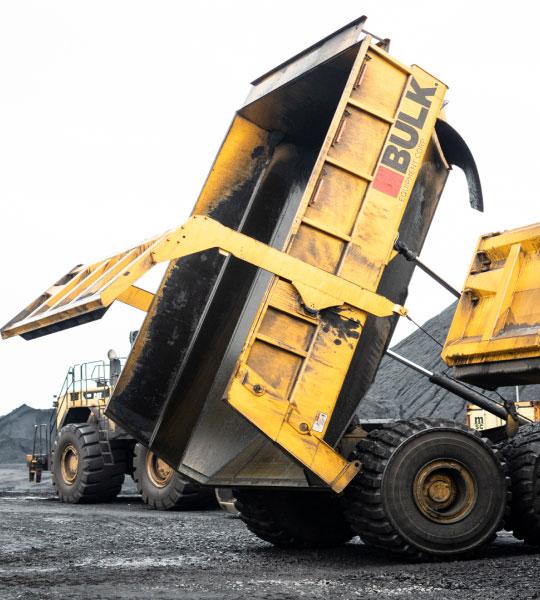 Bulk Heavy Equipment In Action