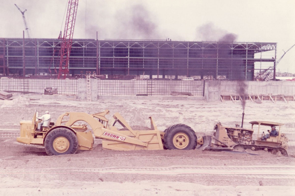 Brown's Crew Doing Site Prep For The Bethlehem Steel Plant