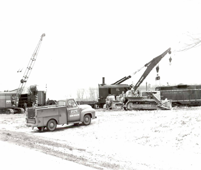 Brown Assisting With The Railroad Derailments