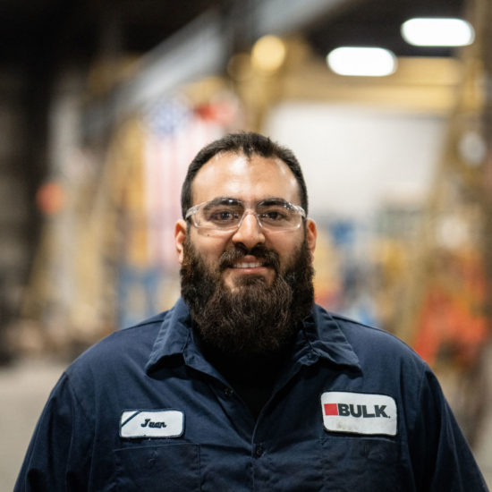 Juan Fernandez, Bulk Equipment Corp.