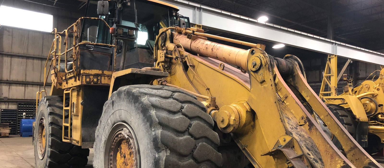 A Glance At The Initial Heavy Equipment Rebuild Process At Bulk Equipment Corp.