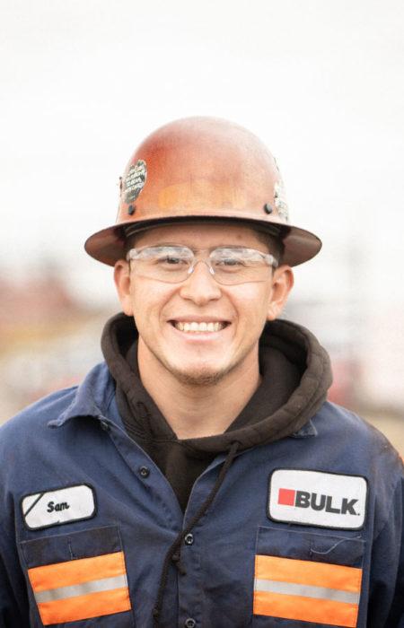 Sam Ortiz, Bulk Equipment Corp.